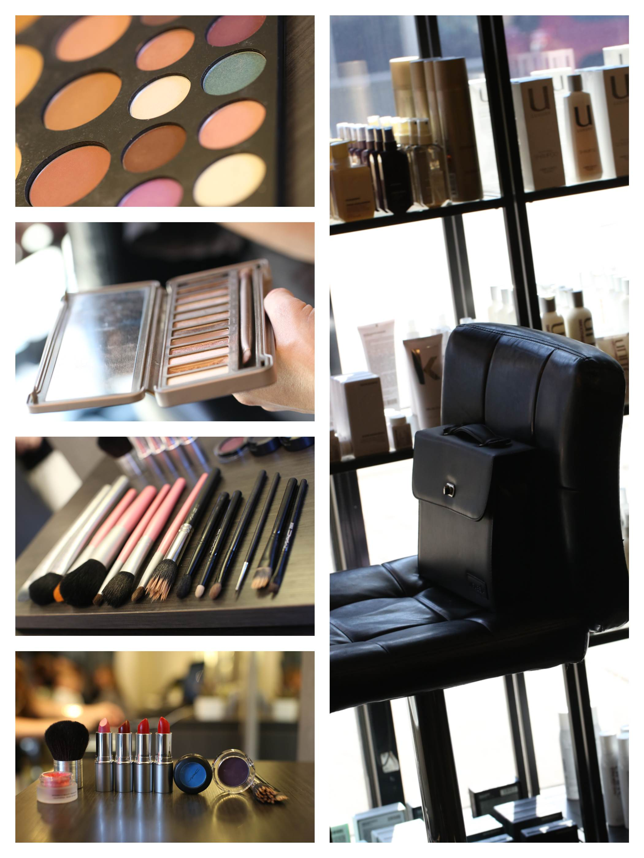 make up collage